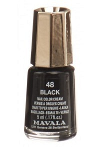 MAVALA Nagellack Crazy Color 48 Black 5 ml