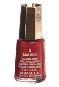 MAVALA Nagellack Mini Color 02 Madrid 5 ml
