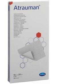 ATRAUMAN Salbenkompressen 10x20cm steril 30 Stk