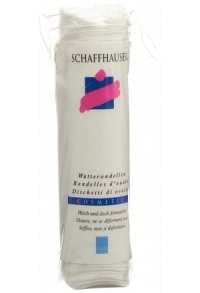 SCHAFFHAUSER Wattepads Cosmetic 80 Stk