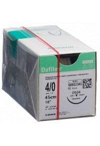 DAFILON 45cm blau DS 24 4-0 12 Stk
