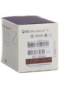 BD MICROLANCE 3 Inj Kanüle 0.45x13mm braun 100 Stk