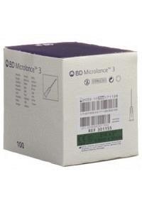 BD MICROLANCE 3 Inj Kanüle 0.80x50mm grün 100 Stk