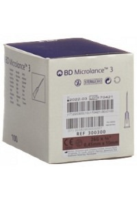 BD MICROLANCE 3 Inj Kanüle 0.45x10mm braun 100 Stk