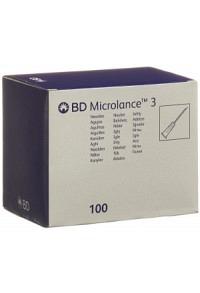 BD MICROLANCE 3 Inj Kanüle 0.50x16mm orang 100 Stk