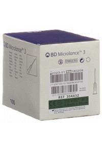 BD MICROLANCE 3 Inj Kanüle 0.80x40mm grün 100 Stk