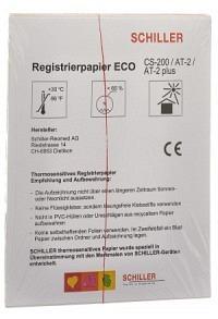 SCHILLER CARDIOVIT Registrier Faltpapier AT2/CS200