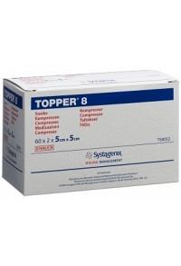 TOPPER 8 NW Kompr 5x5cm steril 60 x 2 Stk