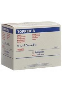 TOPPER 8 NW Kompr 7.5x7.5cm steril 50 x 2 Stk