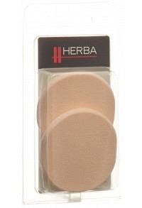 HERBA Make-up Schwämmchen rund 2 Stk 5607