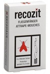 RECOZIT Fliegen Fänger 4 Stk (Achtung! Versand nur INNERHALB der SCHWEIZ möglich!)