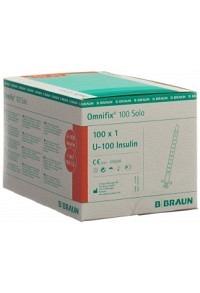 BRAUN Omnifix 100 Insulin 1ml solo L 100 Stk