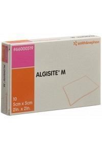 ALGISITE M Alginat Kompressen 5x5cm 10 Stk