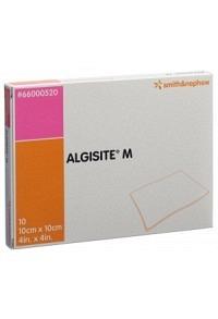 ALGISITE M Alginat Kompressen 10x10cm 10 Stk