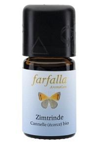 FARFALLA Zimtrinde Äth/Öl Bio Fl 5 ml
