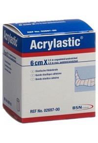 ACRYLASTIC Pflasterbinde 2.5mx6cm elast neu