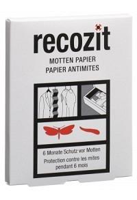 RECOZIT Mottenpapier 2 x 10 Stk (Achtung! Versand nur INNERHALB der SCHWEIZ möglich!)
