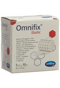 OMNIFIX Fixationsvlies 5cmx10m elast weiss