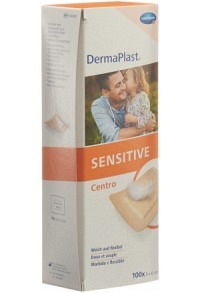 DERMAPLAST SENSITIVE Centro Strip 4x6cm hf 100 Stk