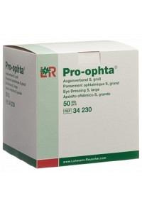 PRO OPHTA S Augenverband L durchsichtig 50 Stk