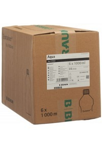 AQUA DEST Braun Spül Lös 6 Ecotainer 1000 ml