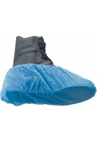 SAHAG Schuhüberzug Polyurethan blau 100 Stk