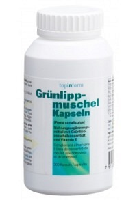 ALPINAMED Grünlippmuschel Kaps 400 mg 200 Stk