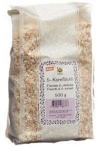 MORGA 5 Kornflocken Knospe Btl 500 g