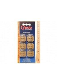 CREDO Hornhaut Safety Klingen Blister 6 Stk