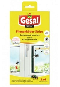 GESAL PROTECT Fliegenköder-Strips 2 x 6 Stk (Achtung! Versand nur INNERHALB der SCHWEIZ möglich!)