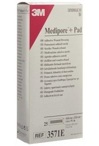 3M MEDIPORE+PAD 10x25cm Wundkissen 5x20.5cm 25 Stk