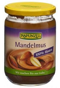 RAPUNZEL Mandelmus braun Bio Glas 500 g