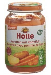 HOLLE Karotten mit Kartoffeln Bio 190 g