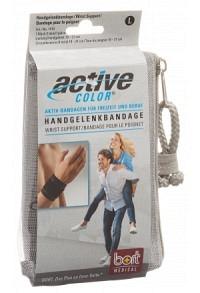 BORT ActiveColor Handgelenkbandage L +19cm schw