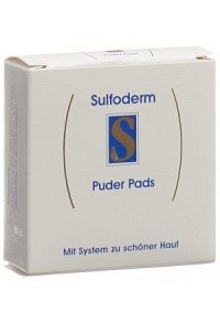 SULFODERM S Puder Pads 3 Stk