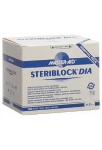 STERIBLOCK Vliespflaster 86x25mm steril 100 Stk