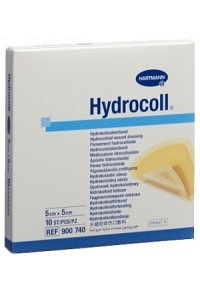 HYDROCOLL Hydrocolloid Verb 5x5cm 10 Stk