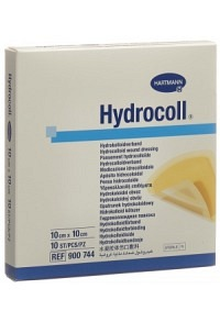 HYDROCOLL Hydrocolloid Verb 10x10cm 10 Stk