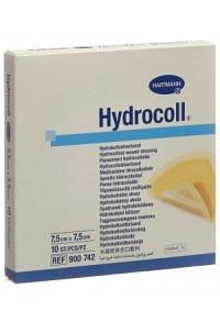 HYDROCOLL Hydrocolloid Verb 7.5x7.5cm 10 Stk