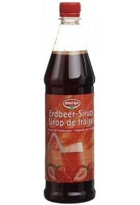 MORGA Erdbeer Sirup mit Fruchtzucker Petfl 7.5 dl