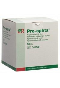 PRO OPHTA S Augenverband S durchsichtig 50 Stk