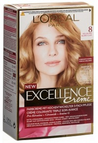 EXCELLENCE Creme Triple Prot 8 hellblond