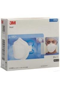 3M Atemschutz Maske FFP2 ohne Ventil 20 Stk