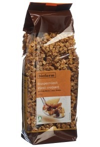 BIOFARM Früchte Knusper Müesli Knospe Btl 500 g