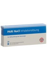 PARI NaCl Inhalationslösung 20 Amp 2.5 ml