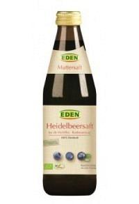 EDEN Heidelbeer Muttersaft o Zucker pur Bio 330 ml