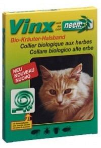 VINX Neem Kräuter Halsband 35cm Katze grün