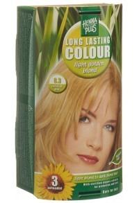 HENNA PLUS Long Last Colour 8.3 goldblond