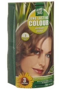 HENNA PLUS Long Last Colour 7 mittelblond