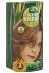 HENNA PLUS Long Last Colour 7.3 mittel gold blond